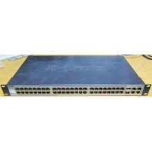 Управляемый коммутатор D-link DES-1210-52 48 port 10/100Mbit + 4 port 1Gbit + 2 port SFP металлический корпус (Абакан)