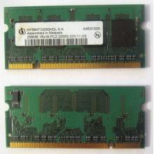 Модуль памяти для ноутбуков 256MB DDR2 SODIMM PC3200 (Абакан)